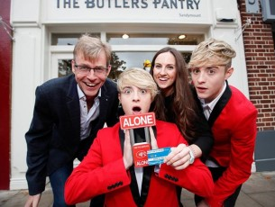 ALONE, Jedward & The Butler's Pantry