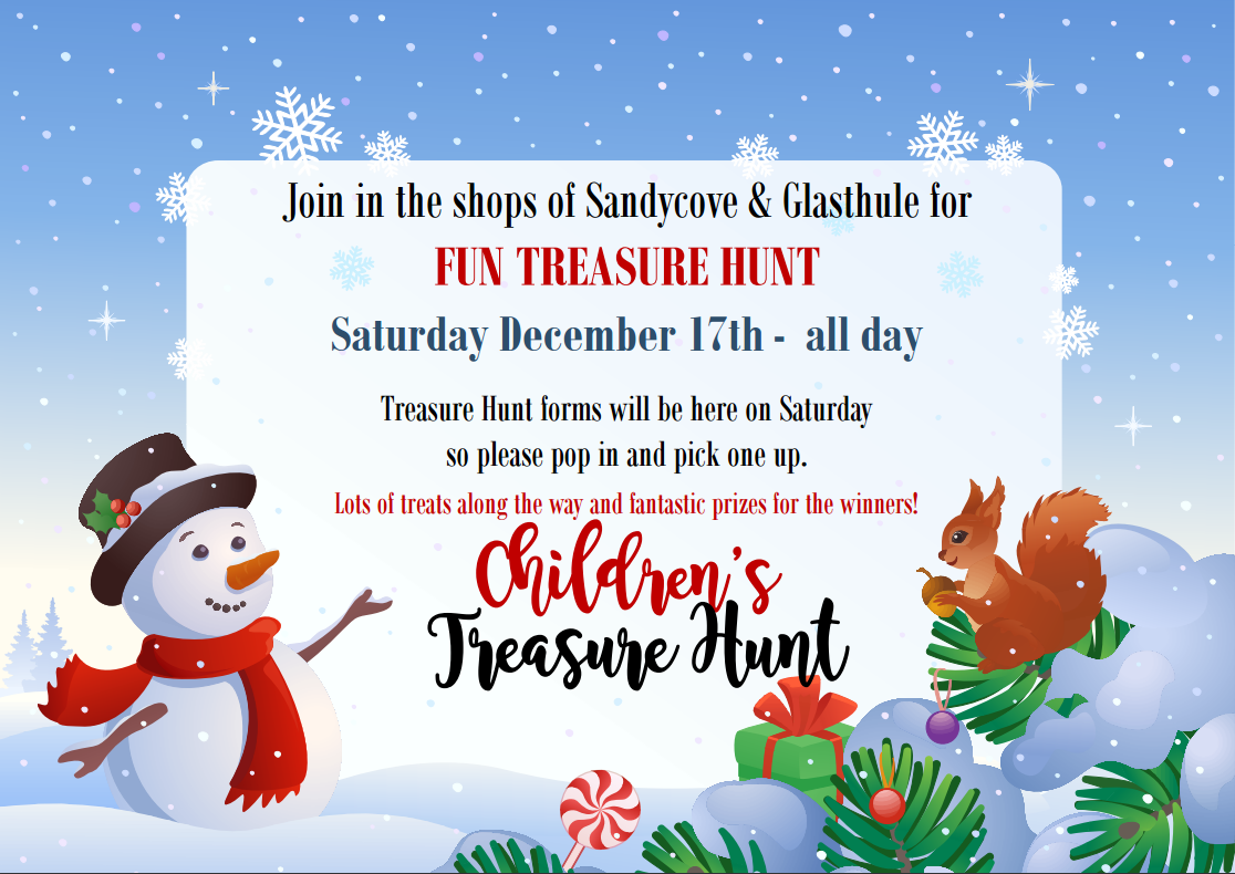 The Sandycove Glasthule Christmas Treasure Hunt