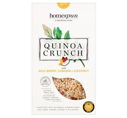 Quinoa Crunch Gojiberry, Cashew and Coconut
