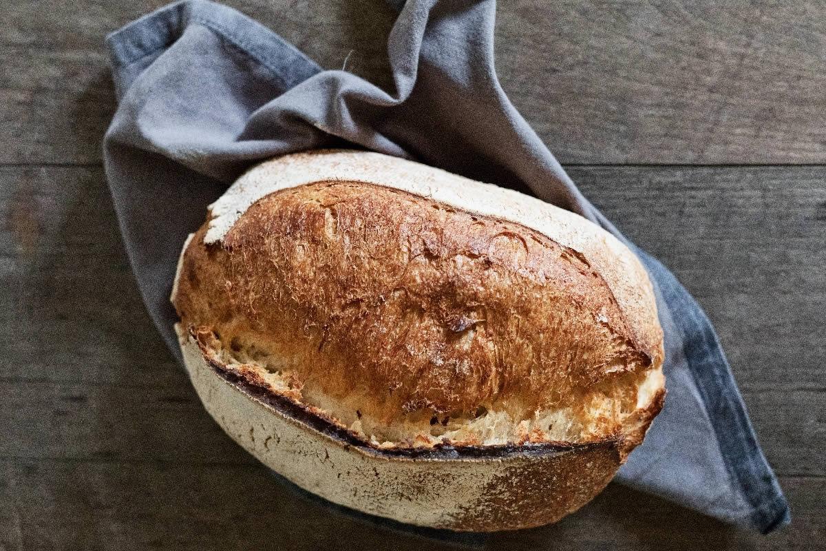 White Sourdough Fresh Baked